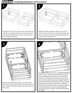 Slim Furniture Indoor Furniture Coupling Instructions