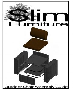 Slim Furniture Outdoor Assembly Instructions